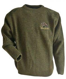 Lovecký svetr s divočákem