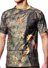 Hillman T-Shirt Short Sleeve triko - kamufláž - DOPRODEJ