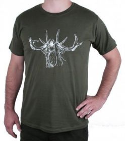 Myslivecké tričko jelen