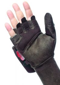 Hillman Windproof Flap Gloves bezprsté rukavice - dub