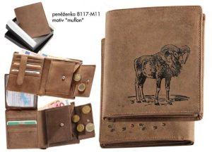 Myslivecká peněženka - muflon